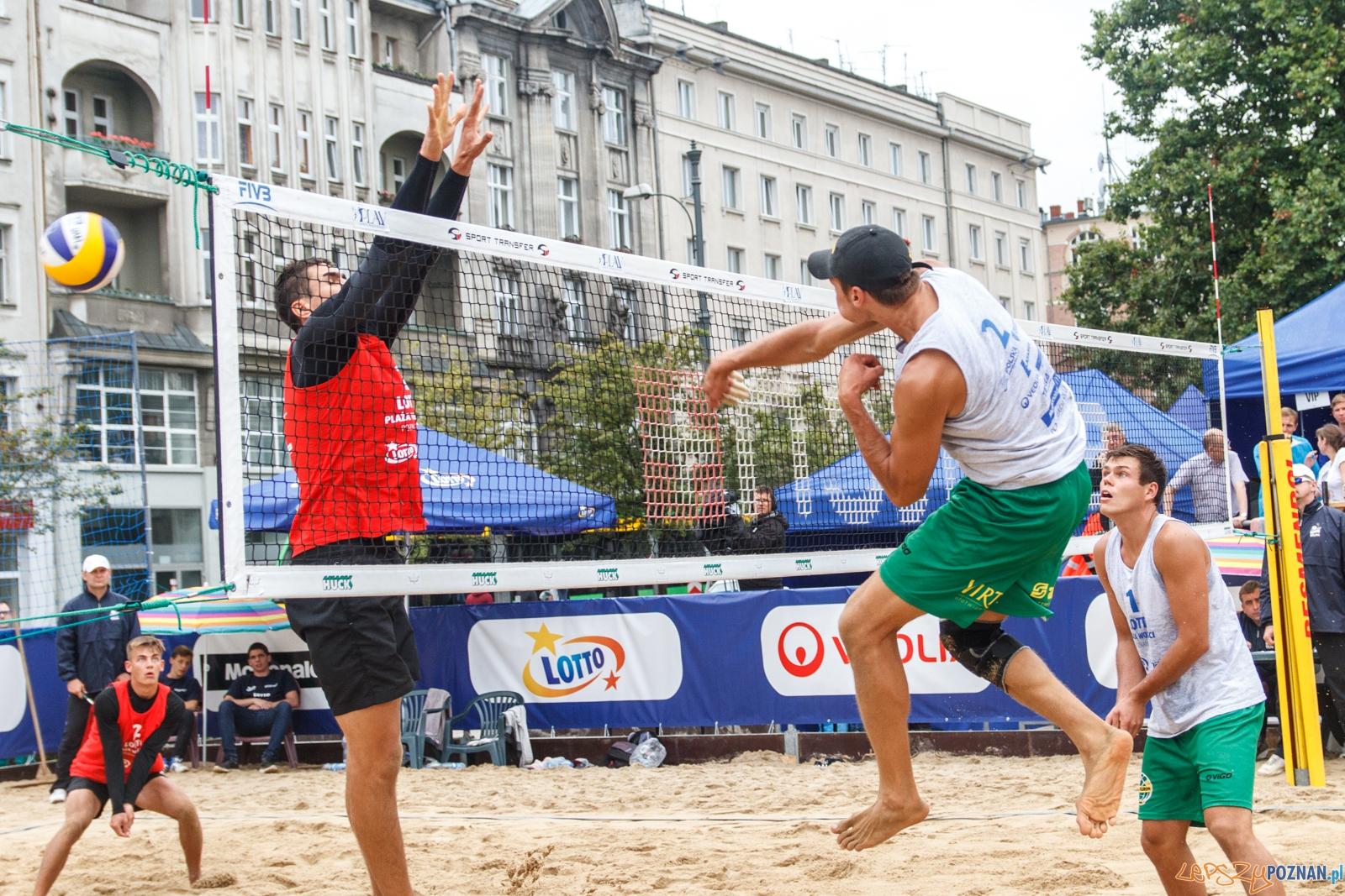 Finałowy mecz Lotto Plaży Wolności - Poznań 21.08.2016 r.  Foto: LepszyPOZNAN.pl / Paweł Rychter