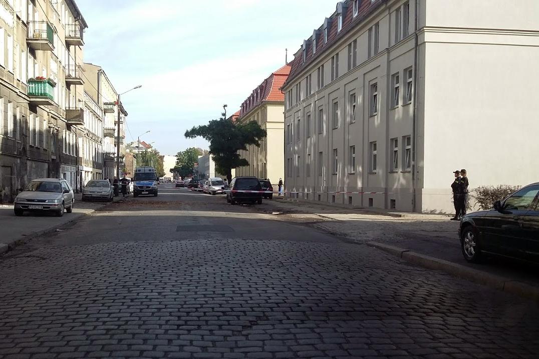 Po pożarze na Łazarzu - mieszkańcy nie wrócą do swoich mieszkań  Foto: twitter / uber.poznan