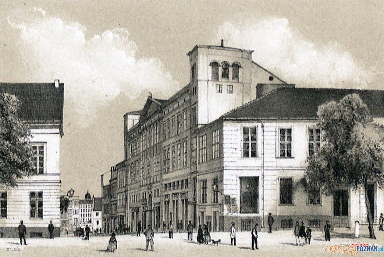 Bazar-1871 r.  Foto: Rys. R. Geissler / fotopolska