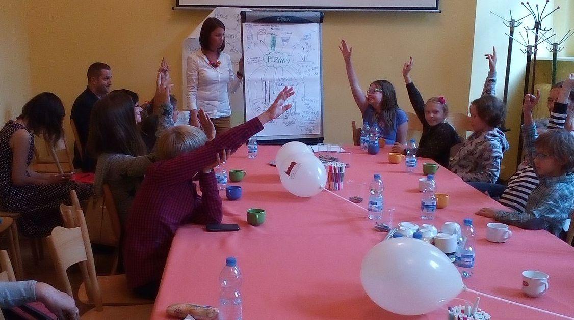 Tak głosowała Dziecięca Rada Miasta Poznania  Foto: Zbigniew Burkietowicz / ROSM