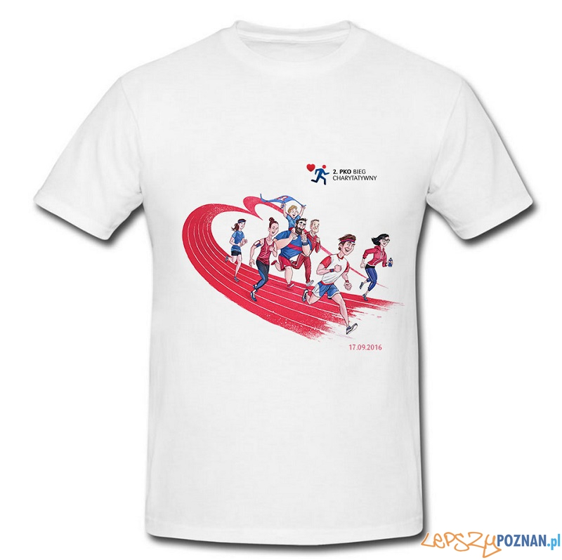 Koszulka 2. PKO Bieg Charytatywny  Foto: materiały prasowe