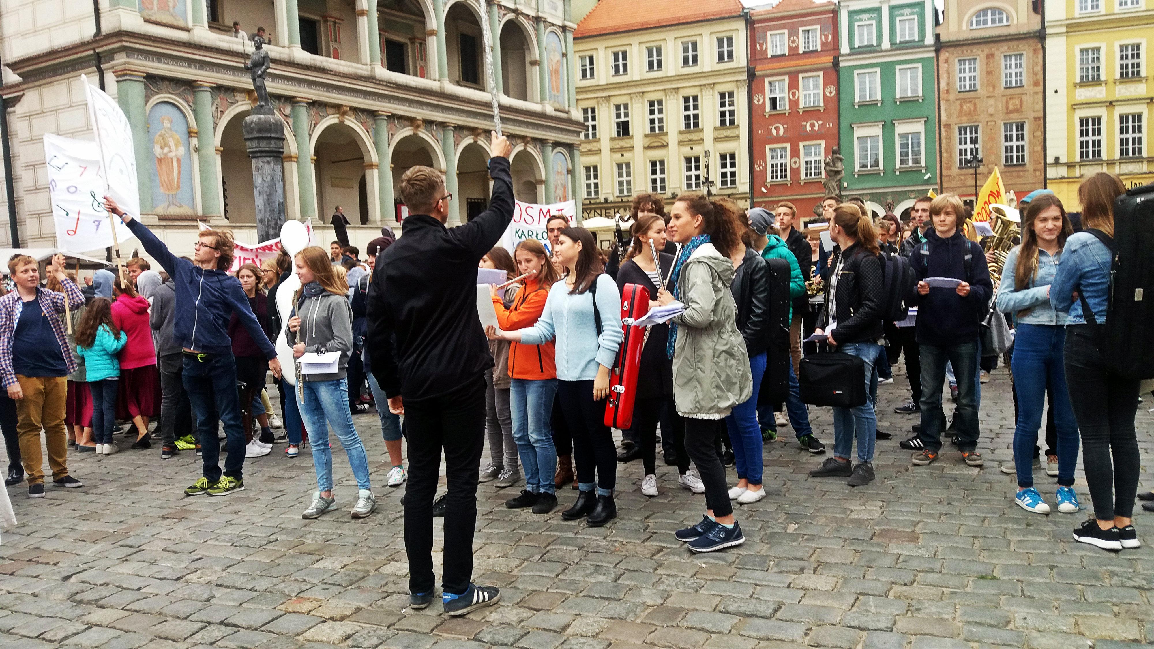 Szybka migawka - Dzień Muzyki  Foto: lepszyPOZNAN.pl / jg