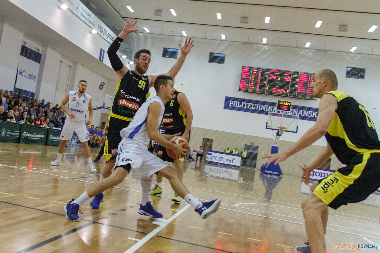 1.Liga Koszykówki Mężczyzn, Biofarm Basket Poznań - Max Elek  Foto: LepszyPOZNAN.pl / Paweł Rychter
