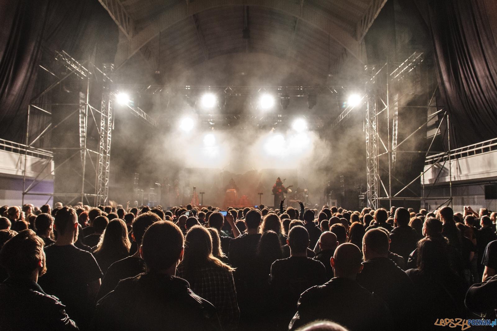 Koncert zespołu Behemoth - support Batushka -  MTP2 - Poznań 1  Foto: LepszyPOZNAN.pl / Paweł Rychter