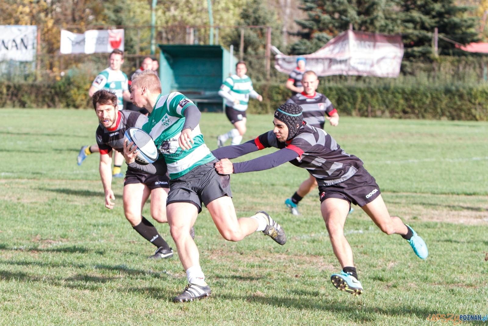 KS Posnania Poznan - AZS AWF Warszawa - II liga rugby - Poznań  Foto: LepszyPOZNAN.pl / Paweł Rychter