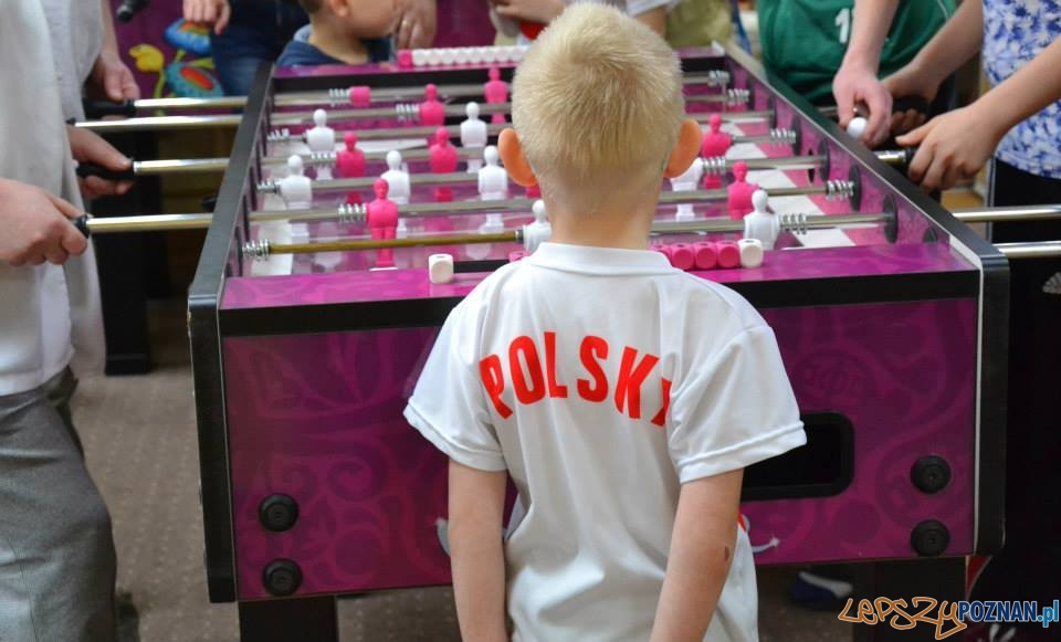 Skradziony stół do gry  Foto: Centrum Wspierania Rodzin Swoboda