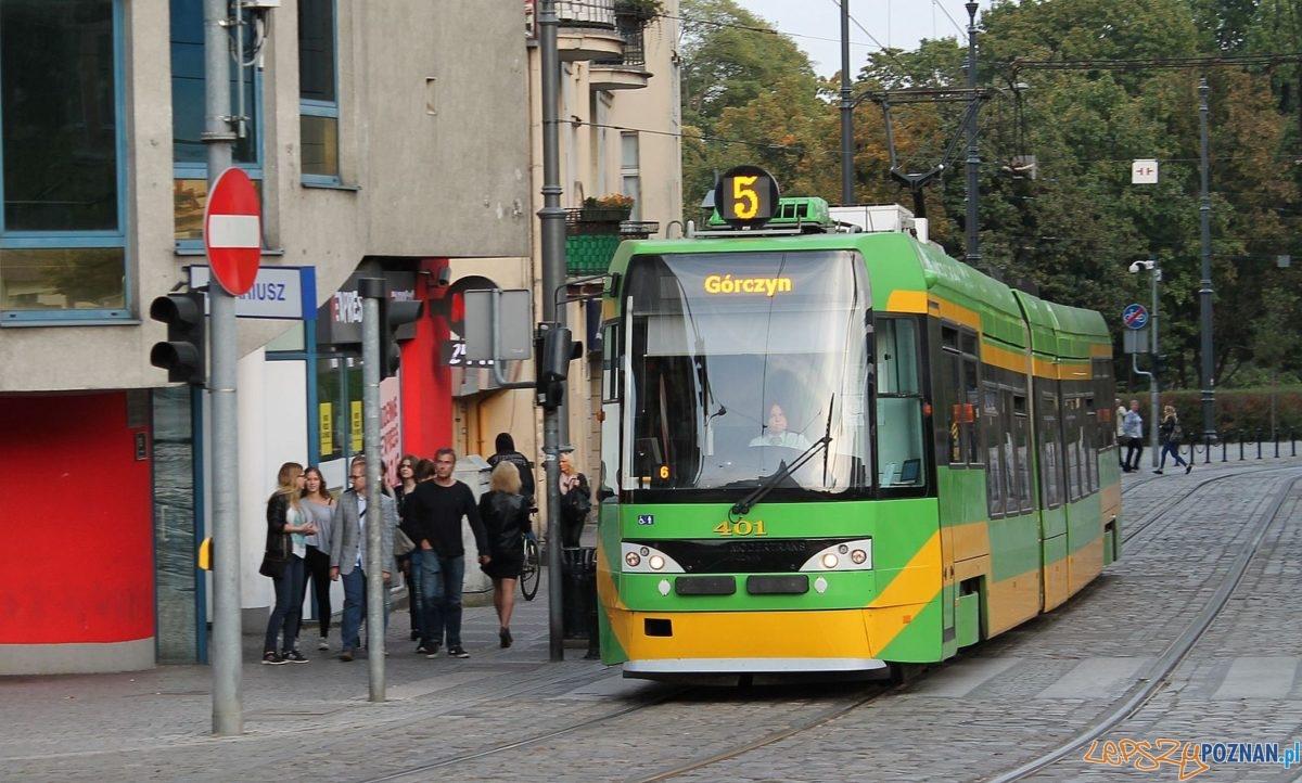 Tramwaj 5 - Podgórna Foto: TD