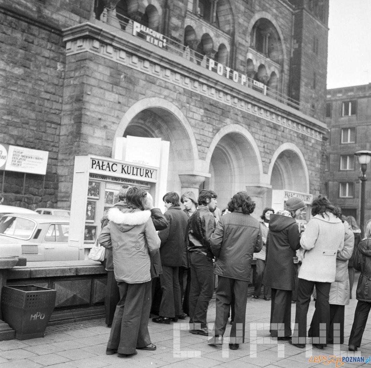 Pałac Kultury - w kinie Potop - 13.11.1974  Foto: Stanisław Wiktor / Cyryl