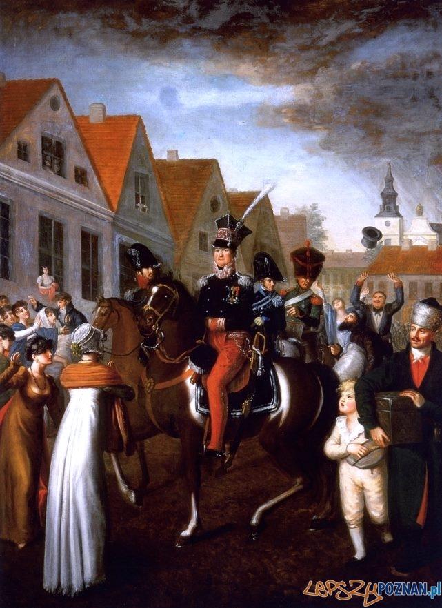 J. Gladysz - Wjazd Dąbrowskiego do Poznania  Foto: PTPN / Muzeum Narodowe