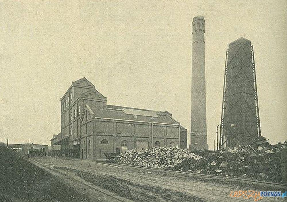 Spalarnia śmieci na Wilczaku  Foto: Księga Pamiątkowa Miasta Poznania