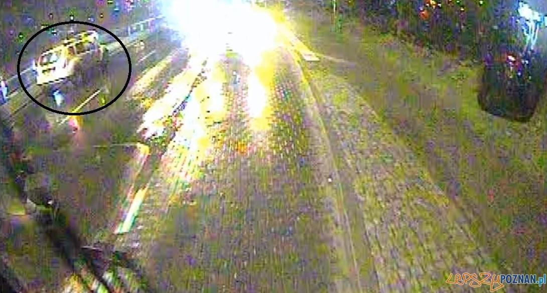 Wypadek na Ratajach  Foto: monitoring MPK