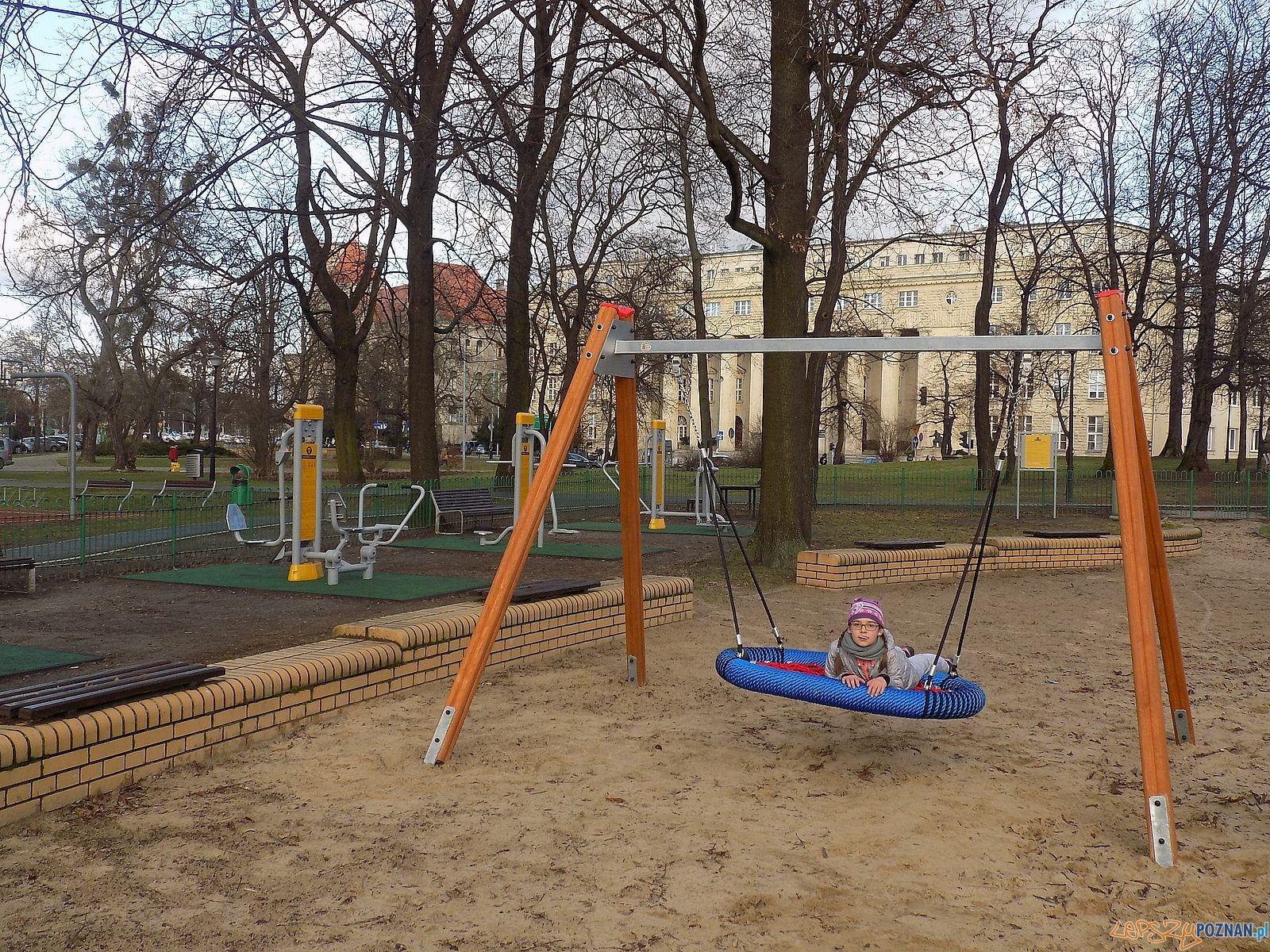 Park Marcinkowskiego - plac zabaw  Foto: RO Stare Miasto