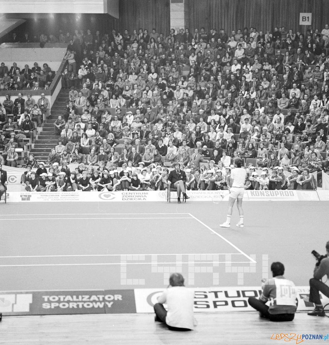 Björn Borg w Hali Arena  Foto: Stanisław Wiktor / Cyryl