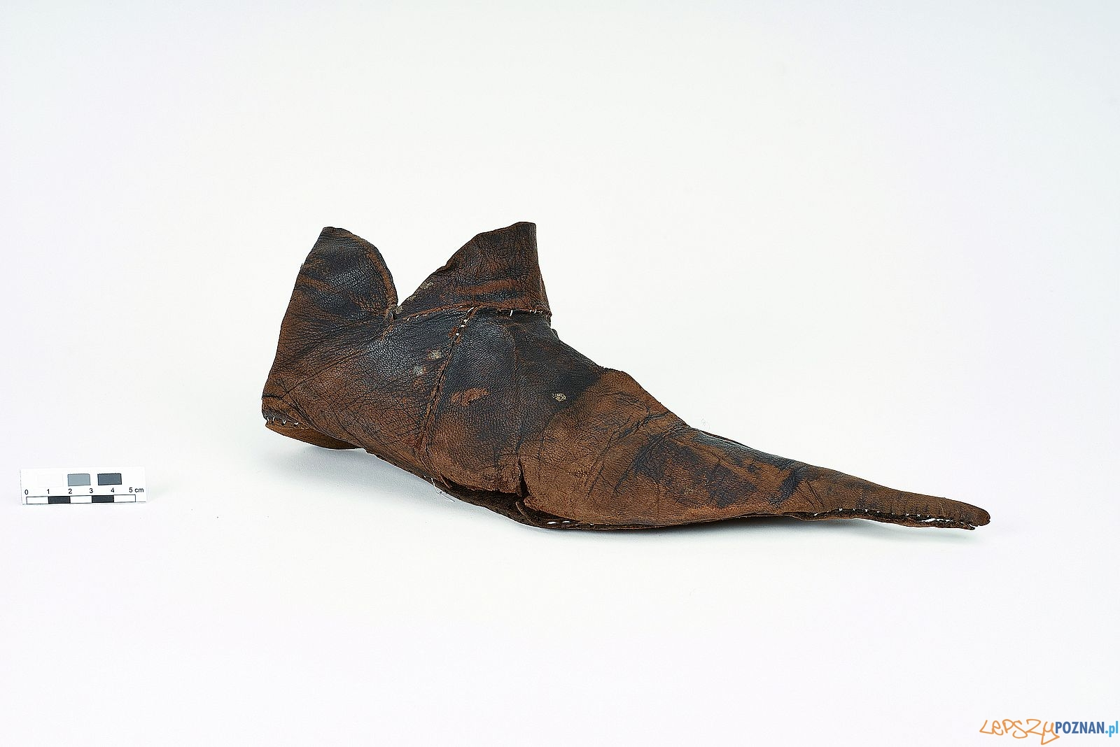 Zrekonstruowane obuwie ze zbiorów Muzeum Archeologicznego  Foto: B Ceynowa / E. Trawicka / Muzeum Archeologiczne