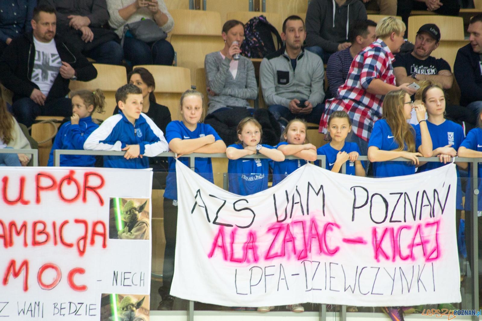 AZS UAM Poznań - LEX Kancelaria Słomniki  Foto: lepszyPOZNAN.pl / Ewelina Jaśkowiak