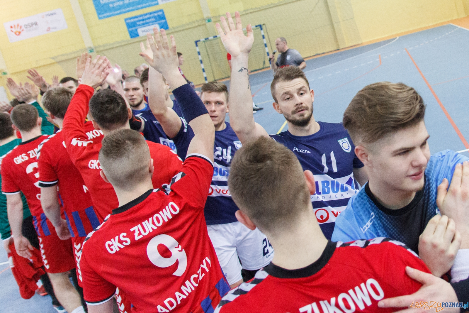 WKS Grunwald Poznań - GKS Żukowo 20:18 (8:10) - Poznań 04.02.  Foto: LepszyPOZNAN.pl / Paweł Rychter