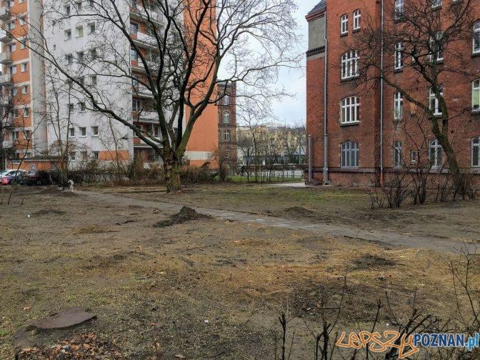 Tu był zielony skwer  Foto: Marcin Liminowicz / Rada Osiedla Stare Miasto