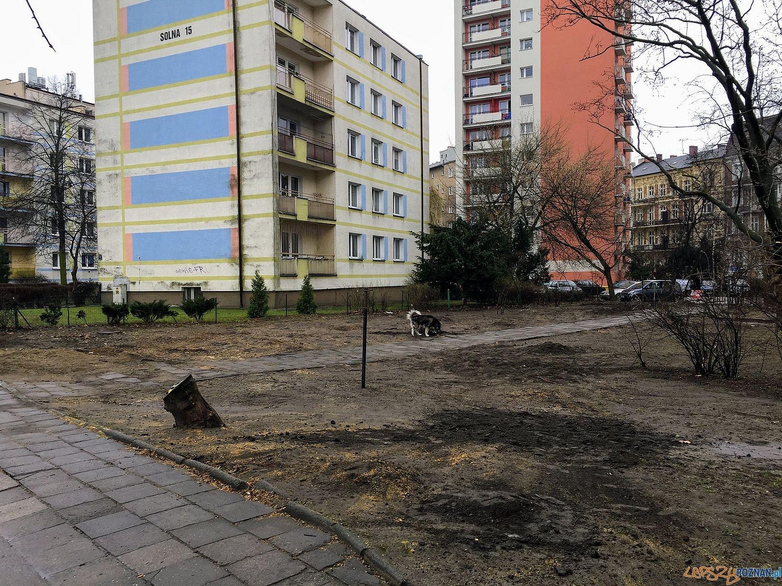 Tu byl zielony skwer  Foto: Marcin Liminowicz / Rada Osiedla Stare Miasto