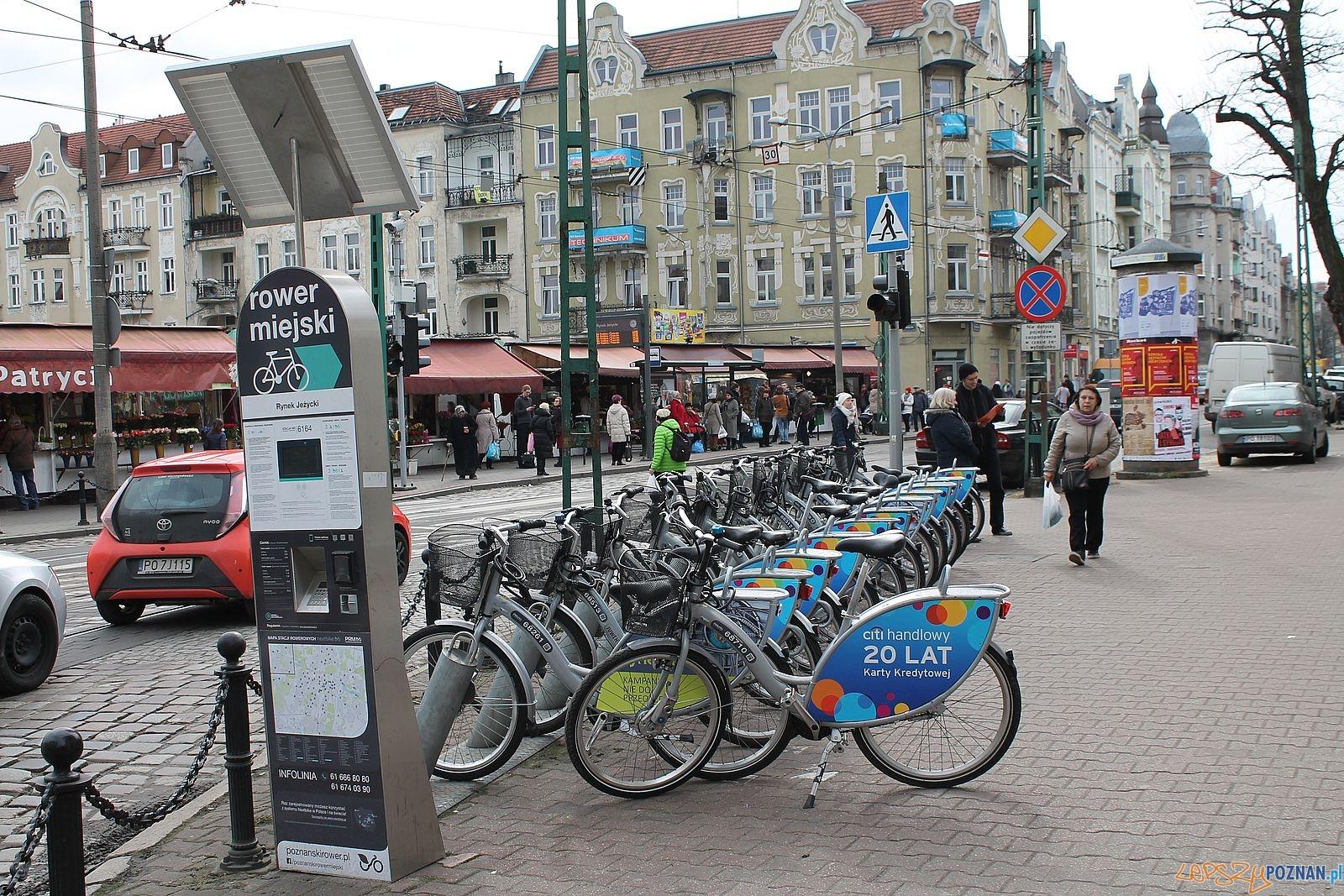 Stacja rowerowa na ul. Kraszewskiego  Foto: Tomasz Dworek