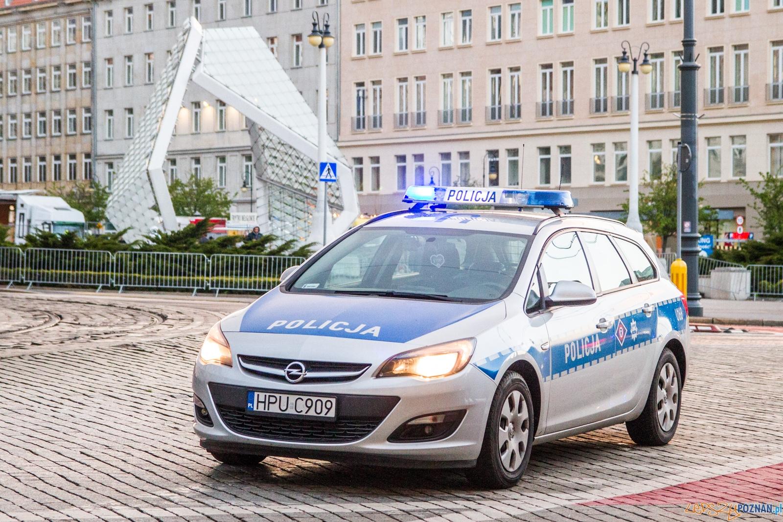 Policja  Foto: © Karolina Kiraga