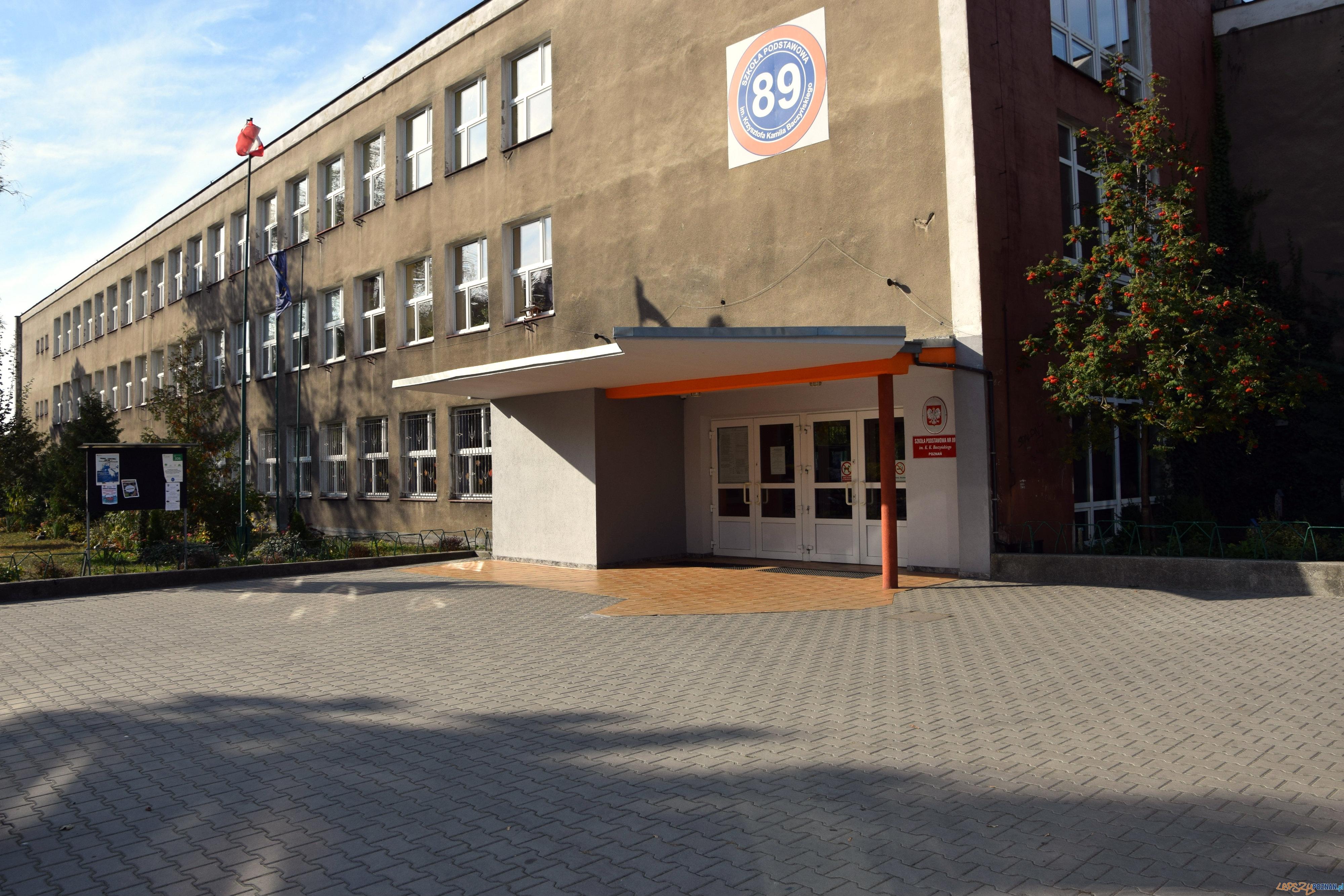 Szkoła Podstawowa nr 89 im. Krzysztofa Kamila Baczyńskiego  Foto: Szkoła Podstawowa nr 89 im. Krzysztofa Kamila Baczyńskiego