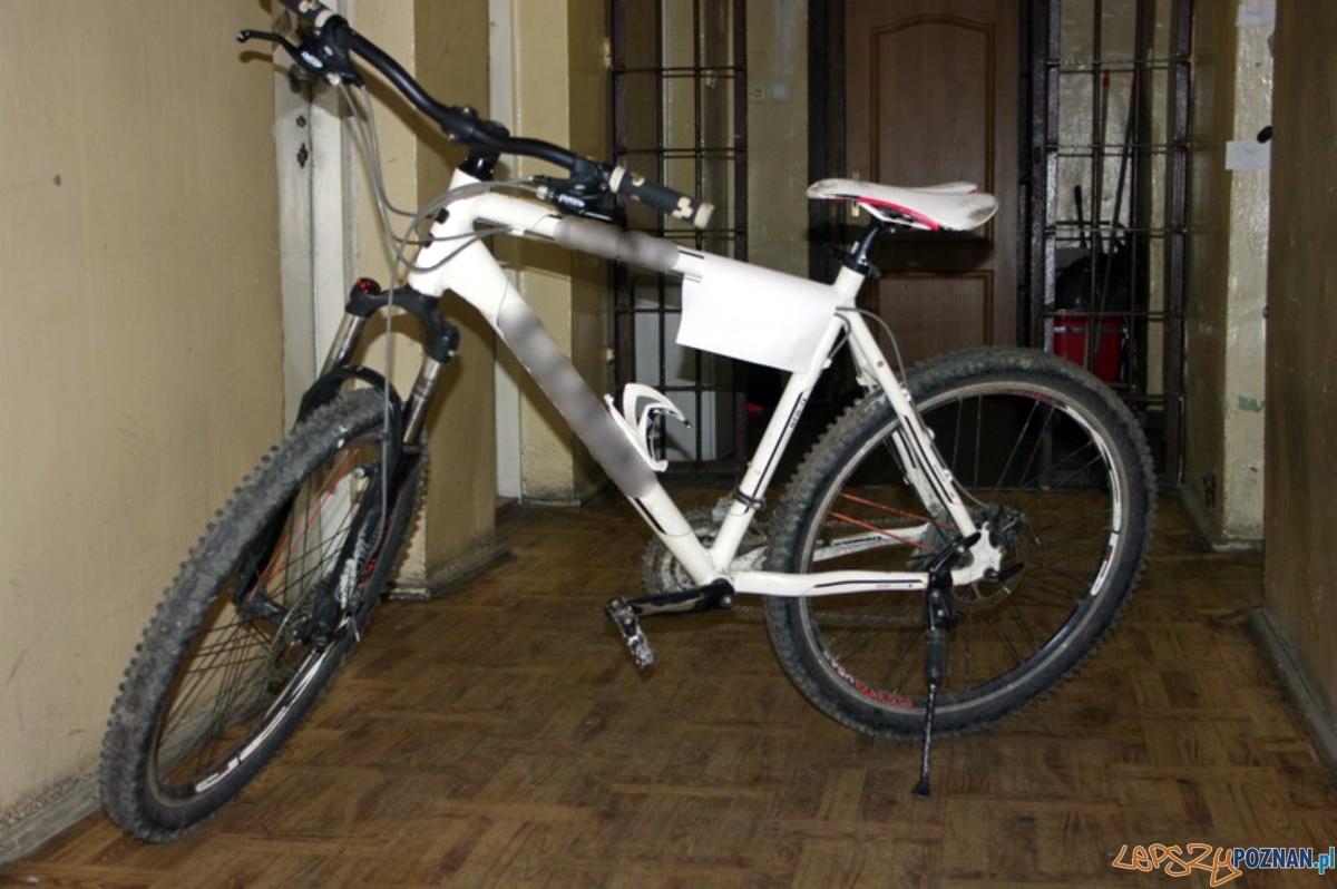 Odzyskany rower  Foto: KMP