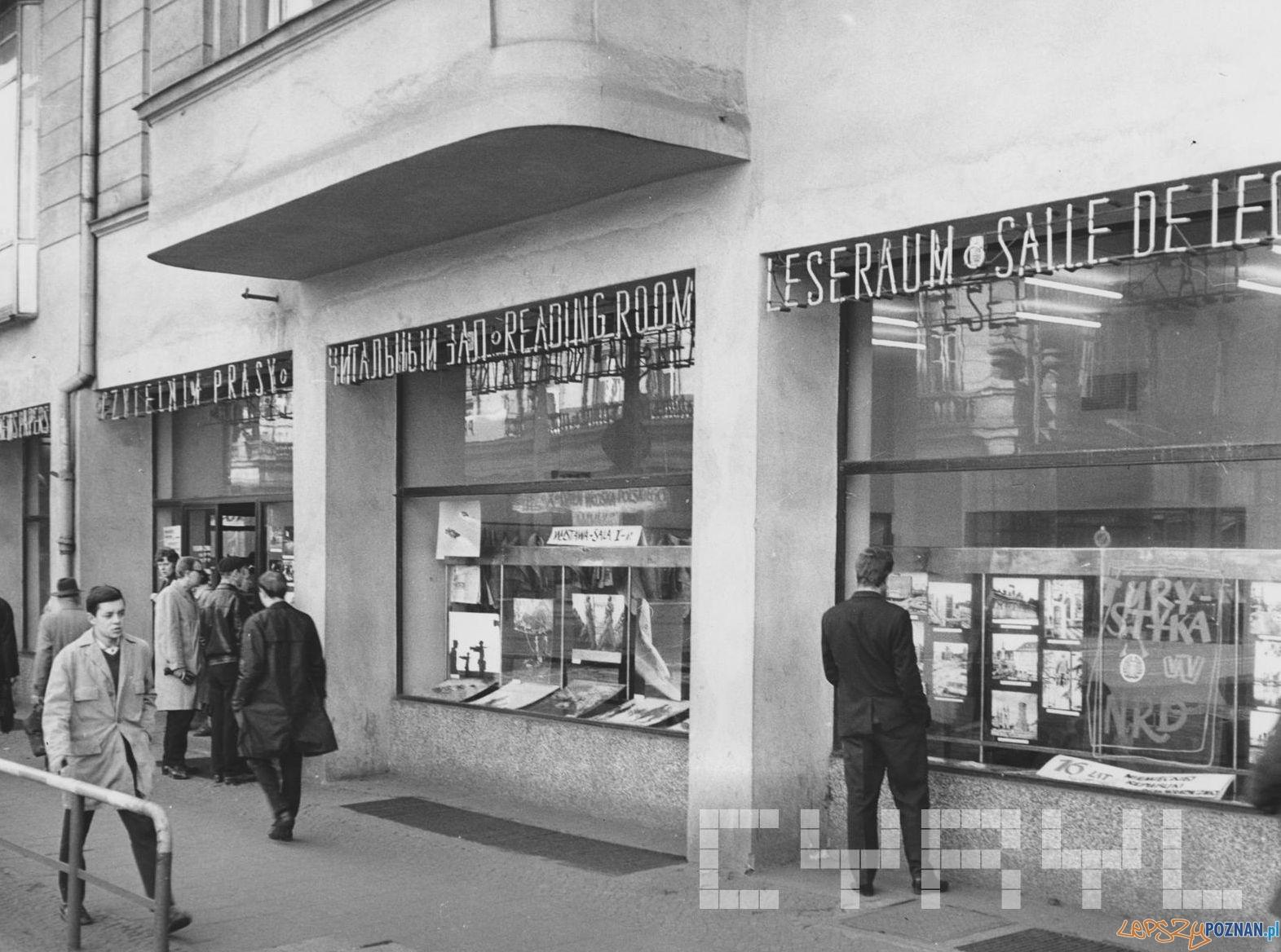 Empik Klub Międzynarodowej Prasy i Książki 1966  Foto: Cyryl / Kronika Miasta Poznania