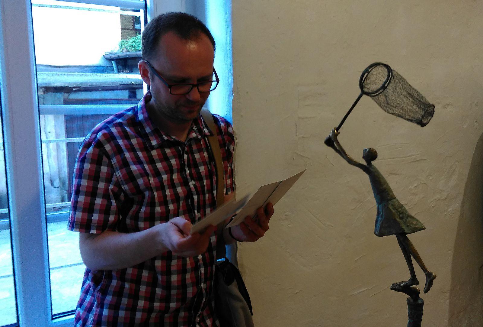 Centralne Oko - wystawa A. Ilskiej Gruchot (4)  Foto: Tomasz Dworek