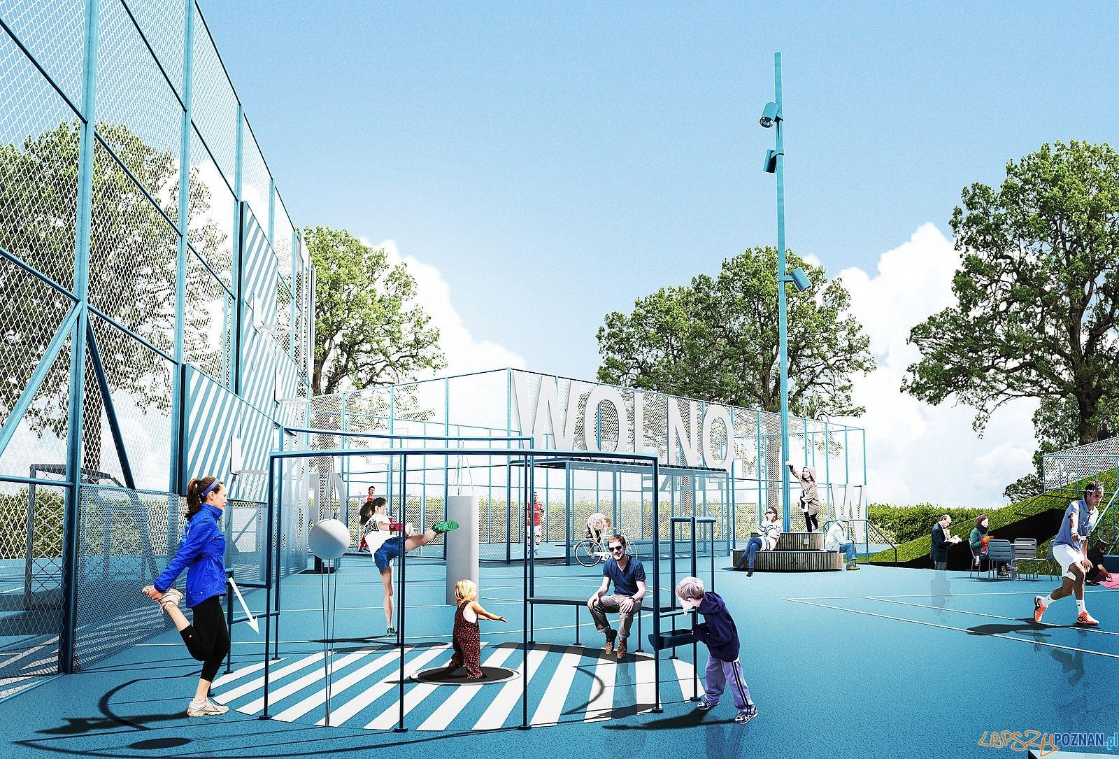 Tu WOLNO - nowy Ogrod Jordanowski - mat. UGO Architecture (11)  Foto: