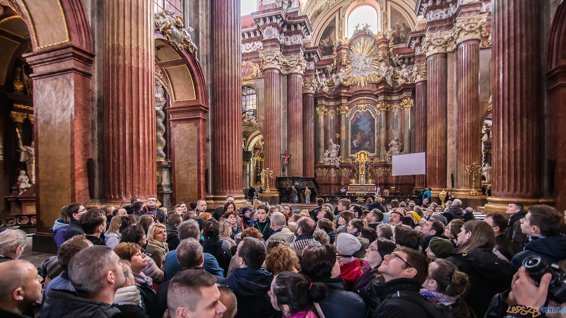Udany jubileusz akcji Poznań za pół ceny - wycieczka w Farze  Foto: PLOT / Jakub Pindych