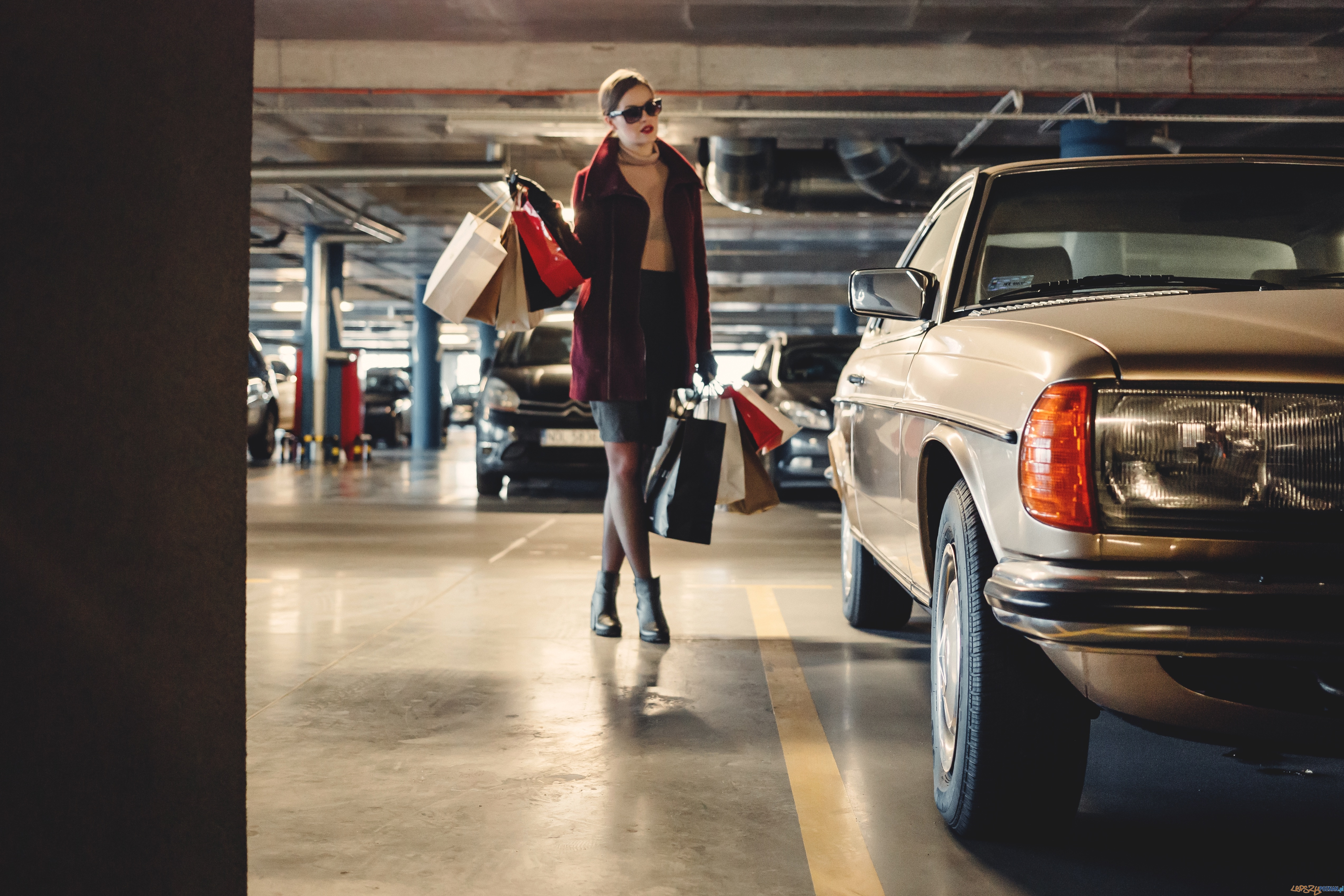 Parking, samochód  Foto: freestocks