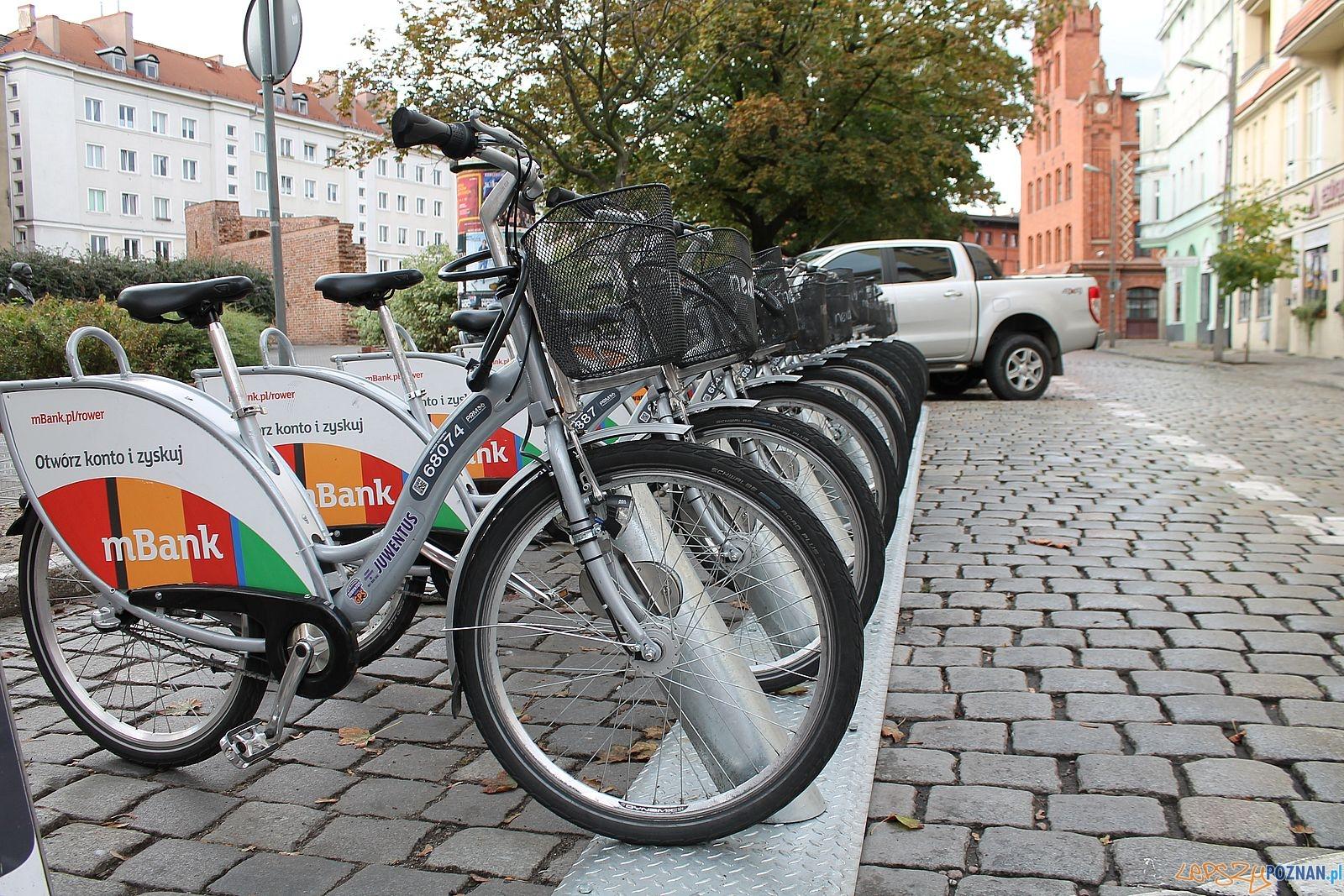 Stacja rowerowa - Kramarska  Foto: Tomasz Dworek