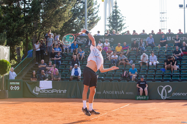 Maciej Rajski (POL) vs Ruben Ramirez Hidalgo (ESP)  Foto: lepszyPOZNAN.pl/Piotr Rychter