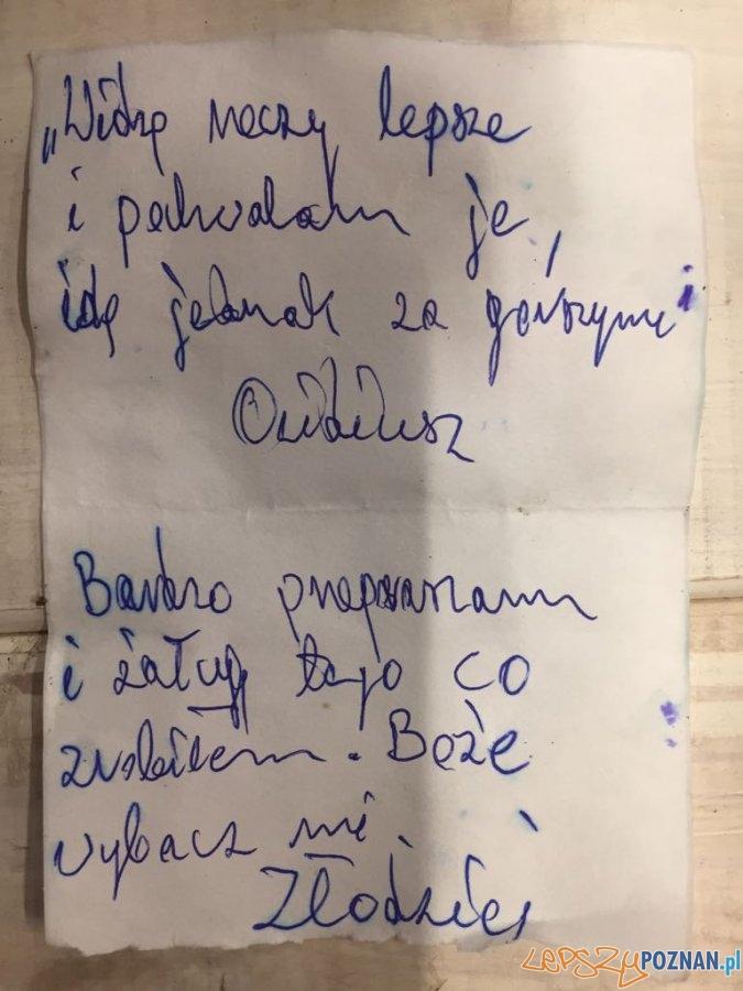 """""""Poeta"""" włamywacz w rękach policjantów  Foto: KMP"""