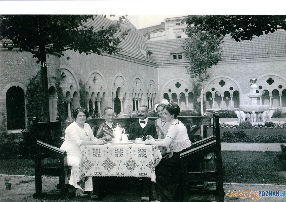 Mieszkańcy Zamku Cesarskiego  Foto: Cyryl / CK Zamek