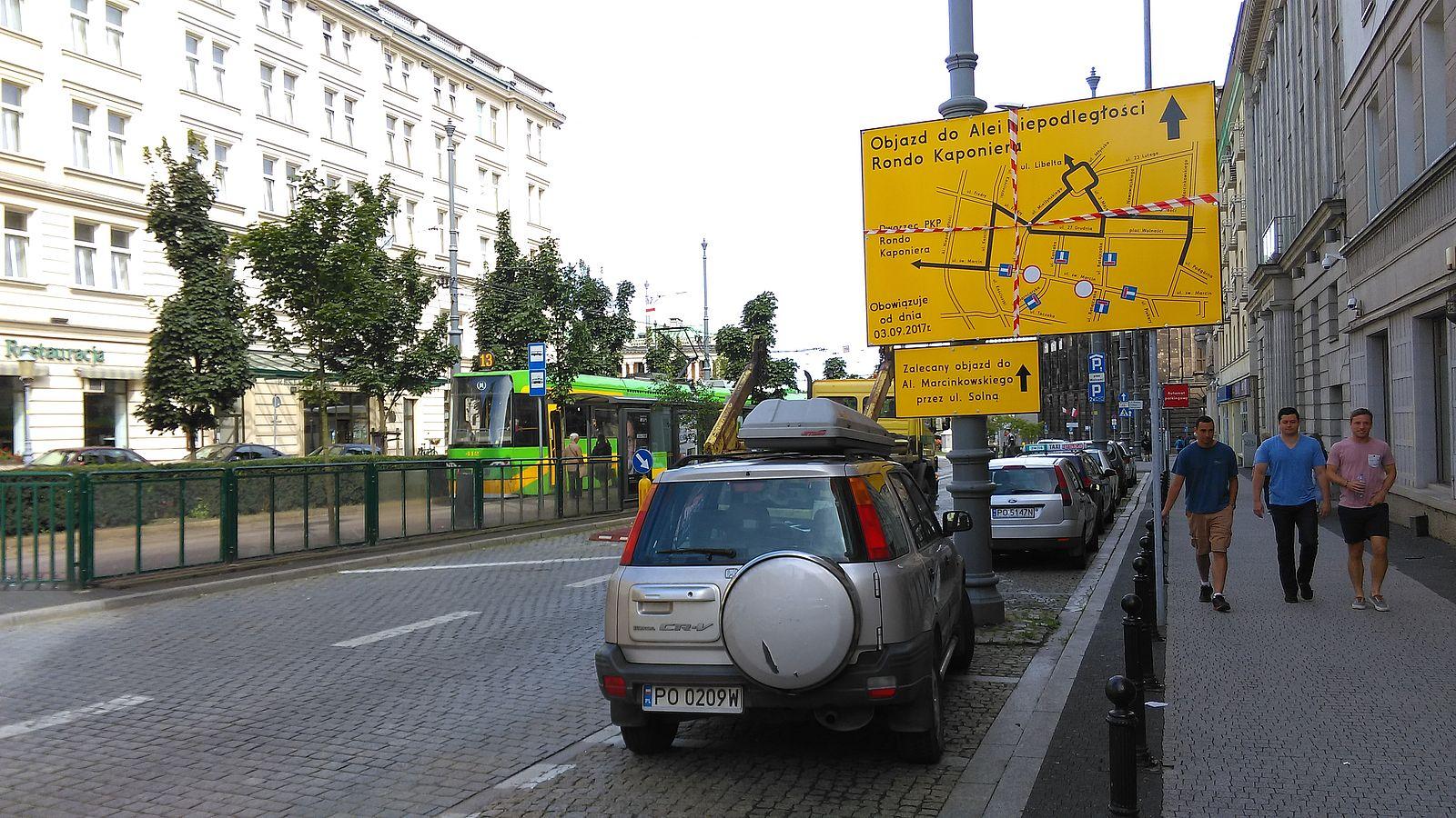 Sw. Marcin - objazdy  Foto: lepszyPOZNAN / TD