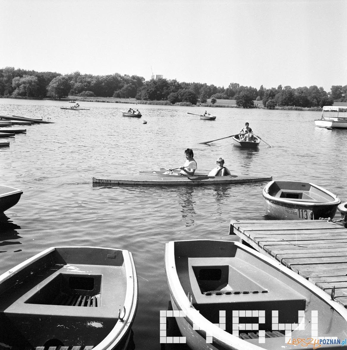 Jezioro Rusałka 10.08.1975  Foto: Stanisław Wiktor / Cyryl
