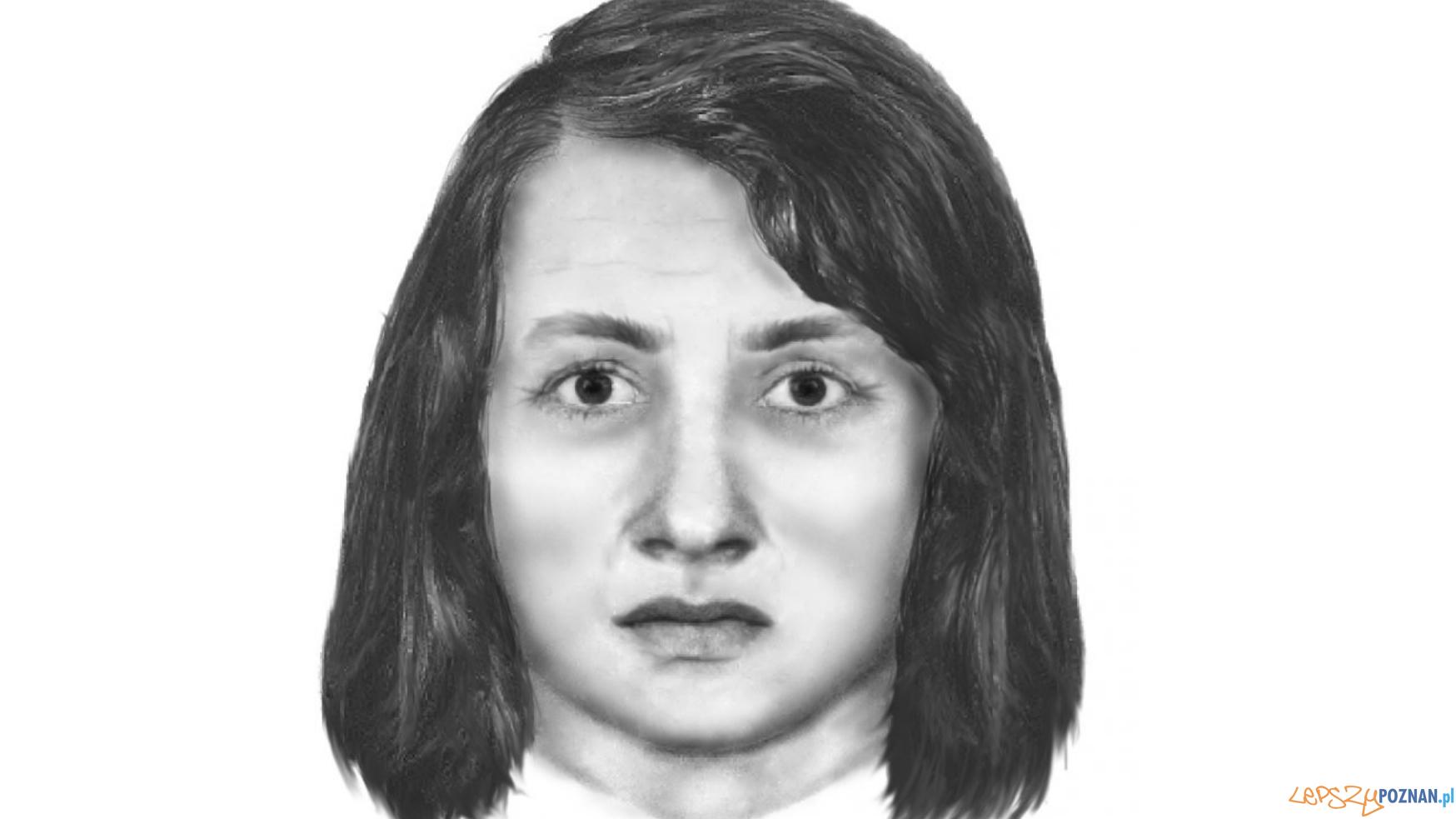 Czy to ona napadła? Portret pamięciowy  Foto: KWP w Poznaniu