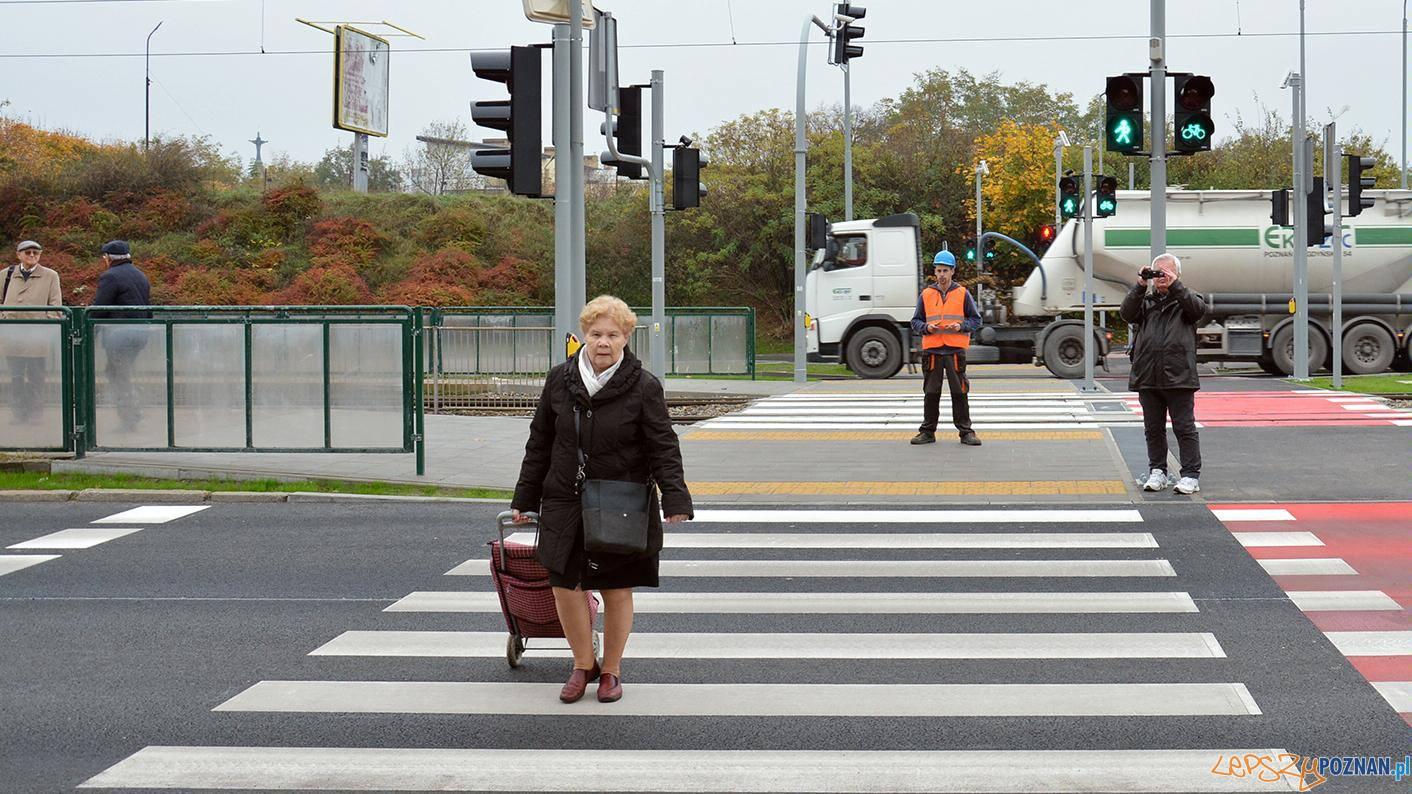 Żegrze - nowe przejście dla pieszych  Foto: Hubert Bugajny / UMP