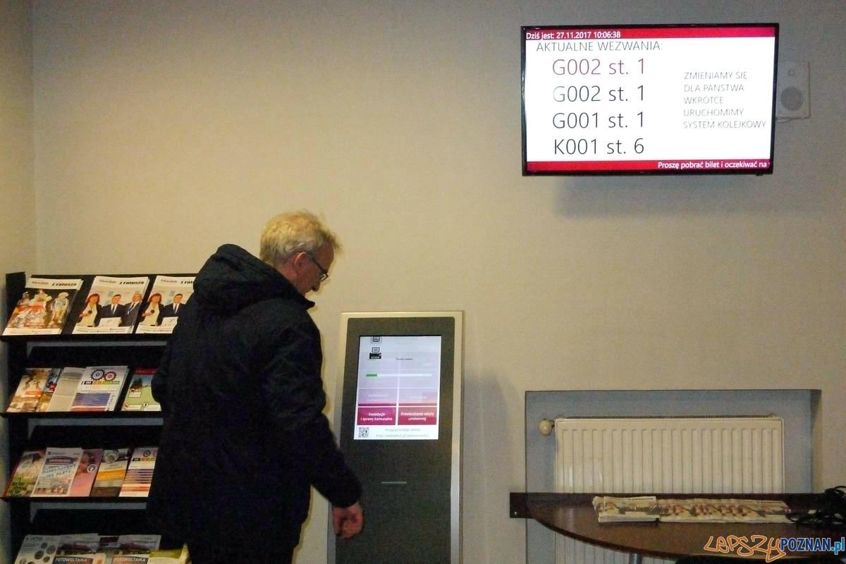 elektroniczny system kolejkowy w Swarzędzu  Foto: UMiG Swarzędz / Maciej Woliński