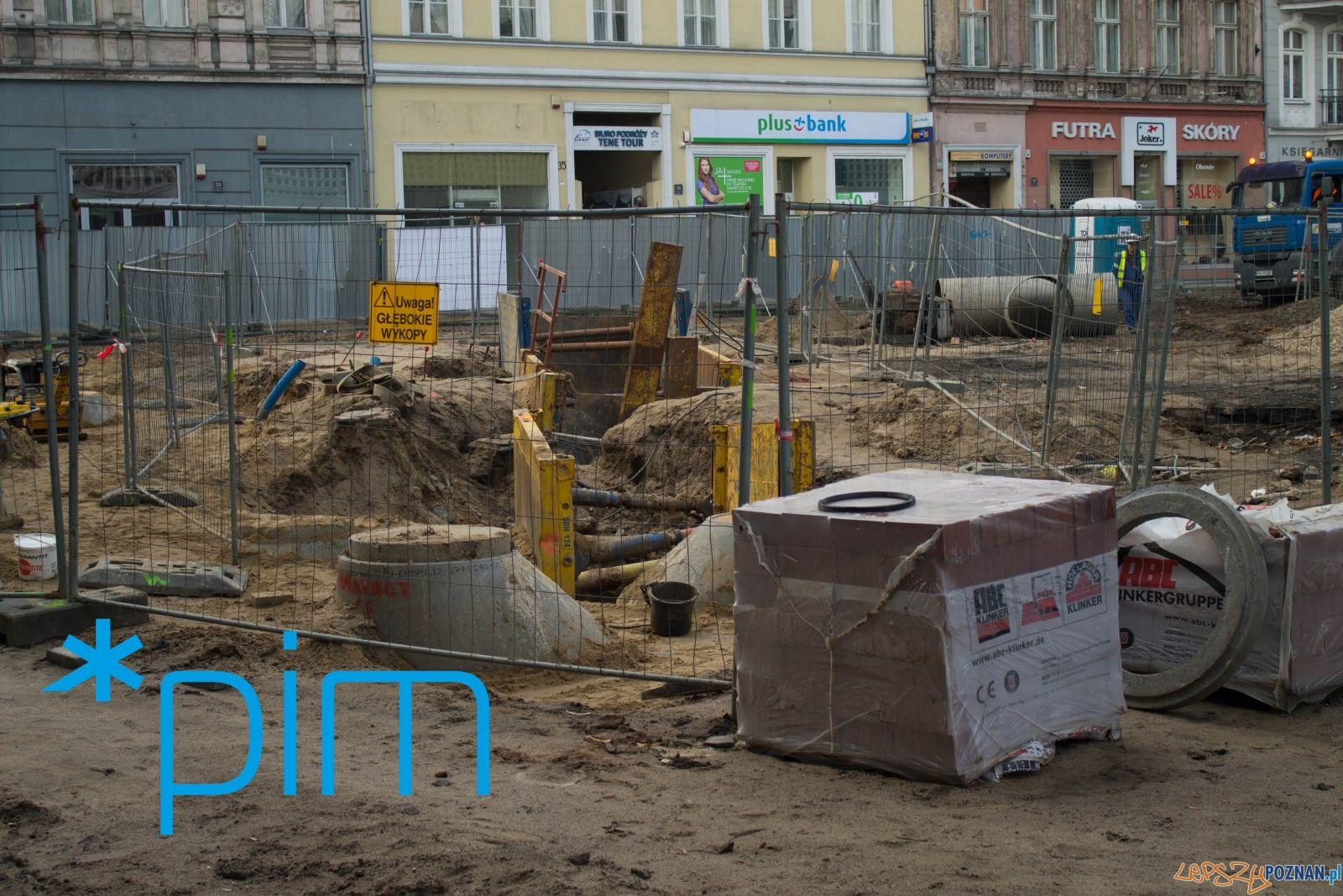 Św. Marcin - prace remontowe - listopad 2017  Foto: PIM