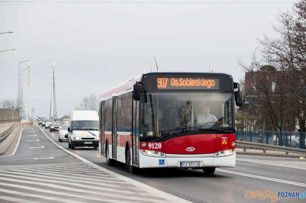 Autobus linii nr 907  Foto: ZTM