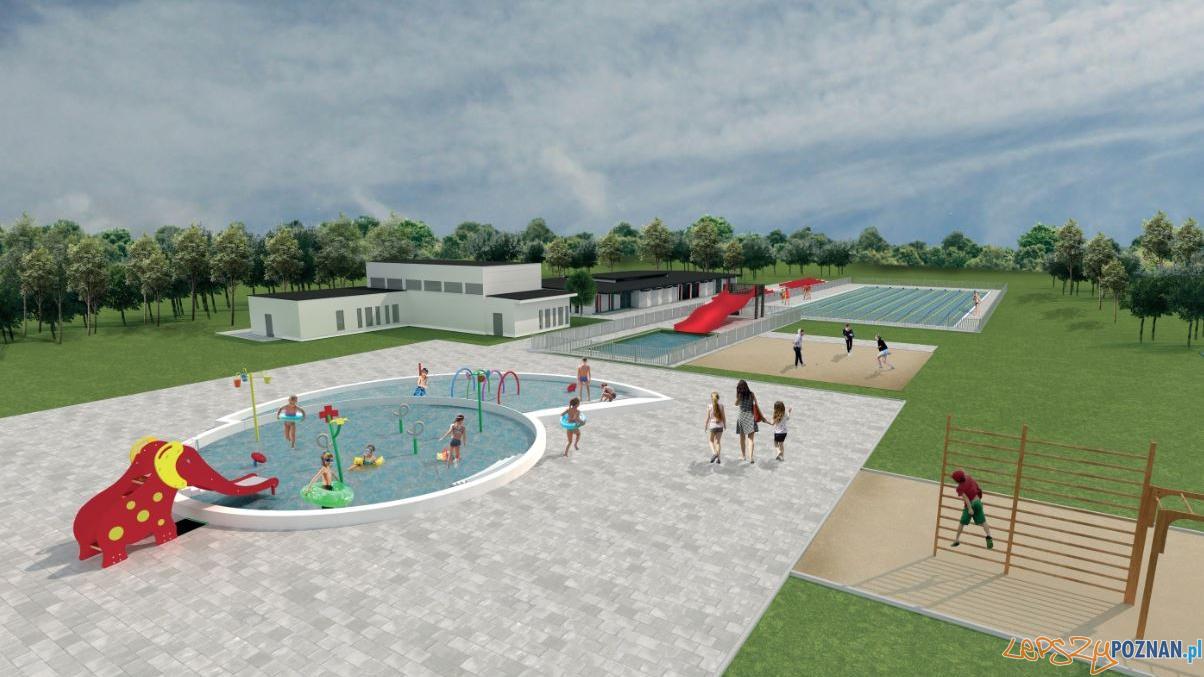 Wizualizacja pływalni w parku Kasprowicza  Foto: