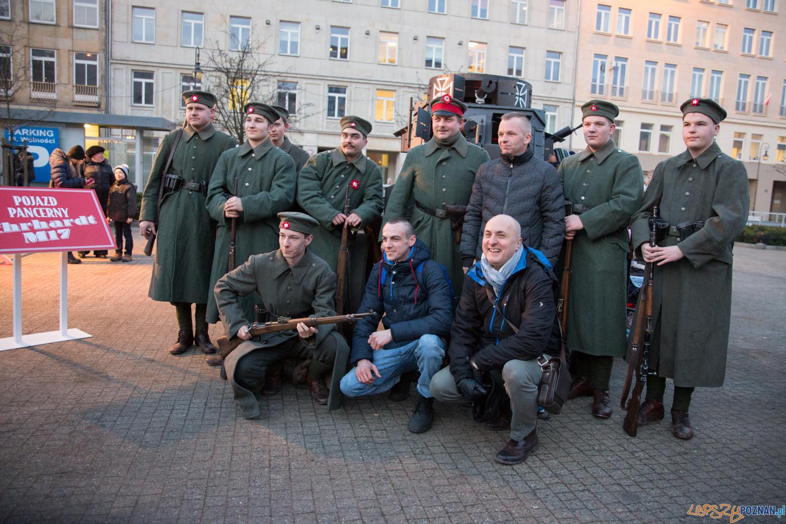Obchody 99-lecia wybuchu Powstania Wielkopolskiego (27.12.2017)  Foto: Karolina Kiraga