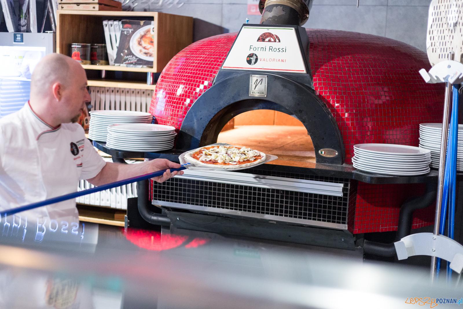 Forni Rossi Neapolitan Pizzeria & Restaurant w Poznaniu  Foto: lepszyPOZNAN.pl/Piotr Rychter