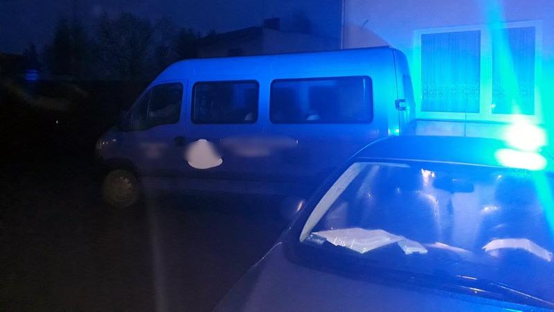 Pijany kierowca samochodu do przewozu osób niepełnosprawnych  Foto: KMP Poznań