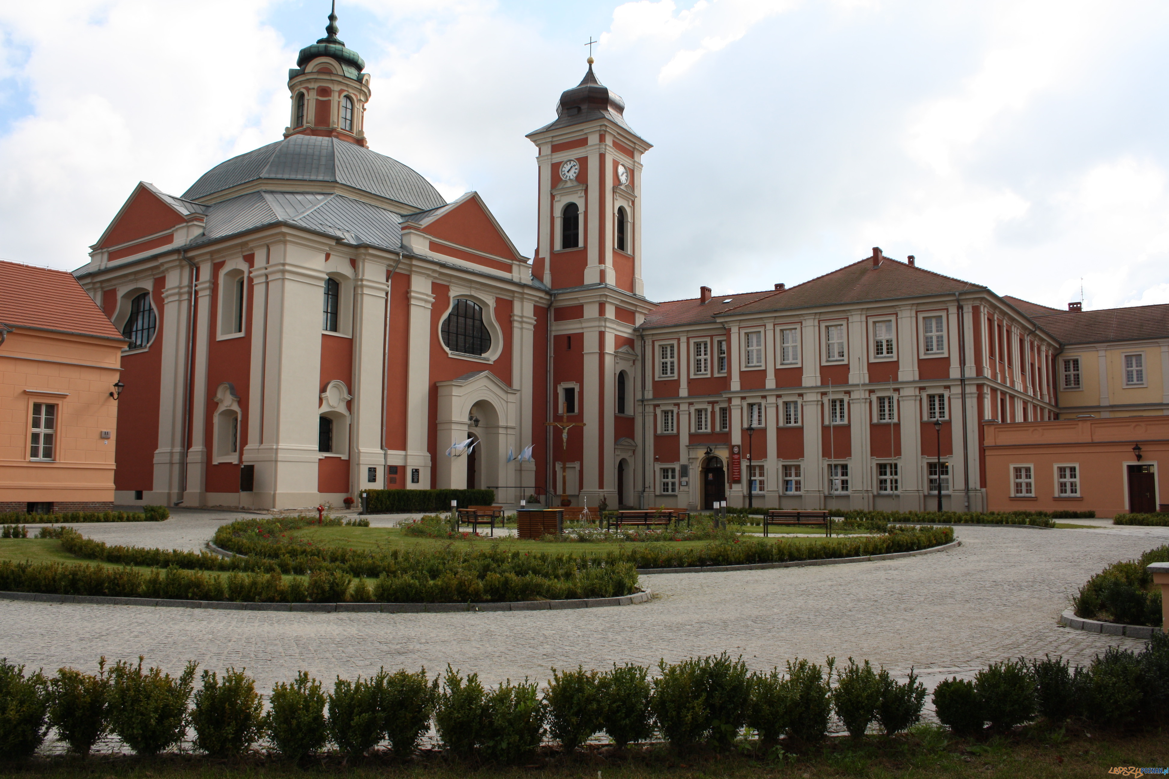 Owińska - Ośrodek dla niewidomych  Foto: materiały Powiatu Poznańskiego
