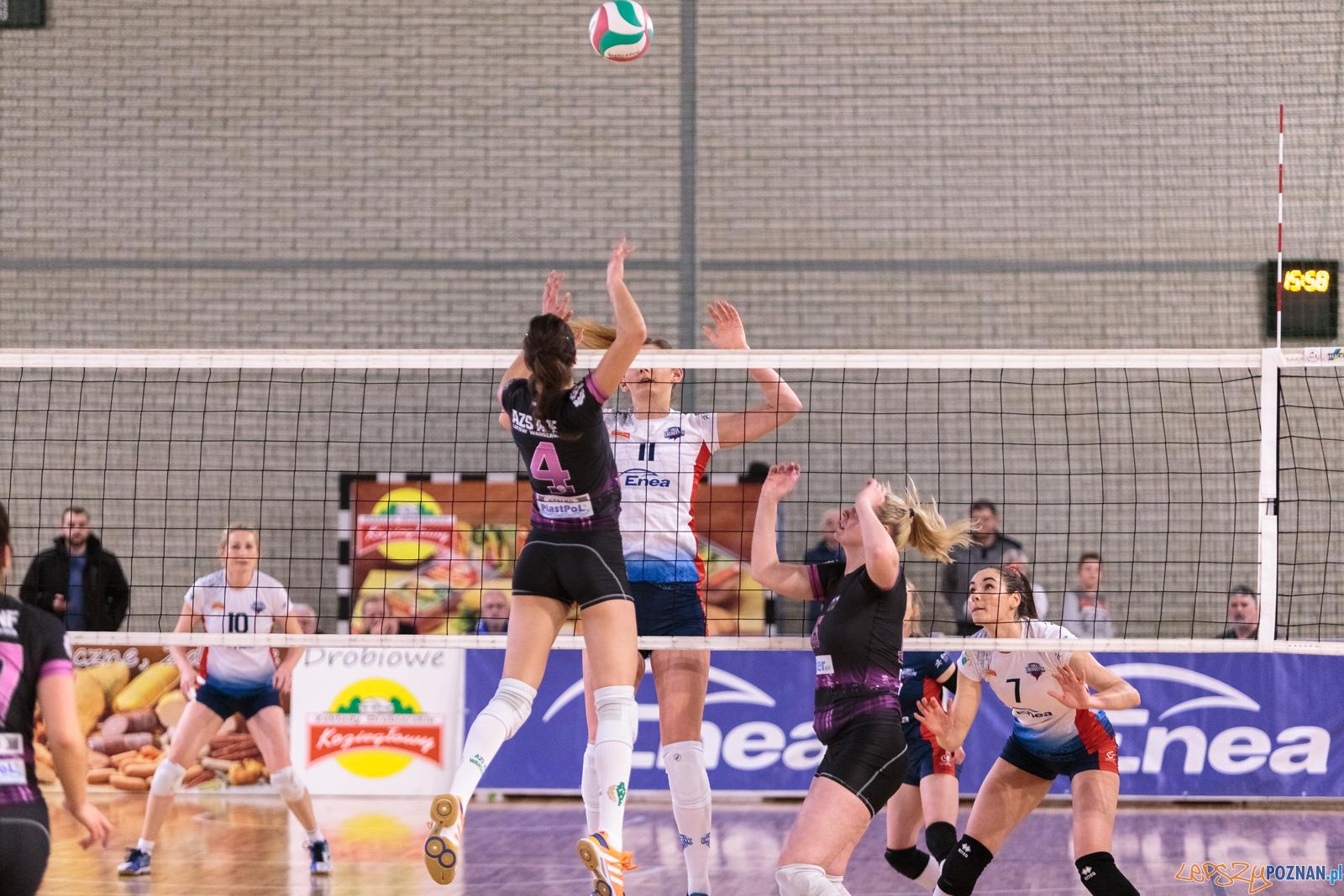 1 liga siatkówki: Enea Energetyk Poznań - AZS AWF Warszawa 3:1  Foto: LepszyPOZNAN.pl / Paweł Rychter