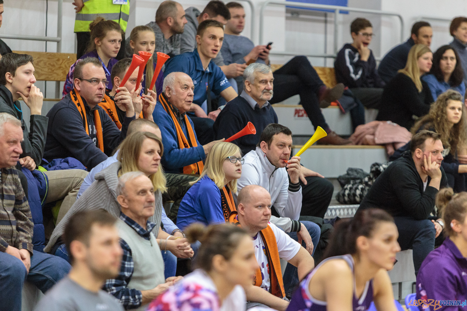 Enea AZS Poznań - Artego Bydgoszcz 48:68 - 21.02.2018 r.  Foto: LepszyPOZNAN.pl / Paweł Rychter