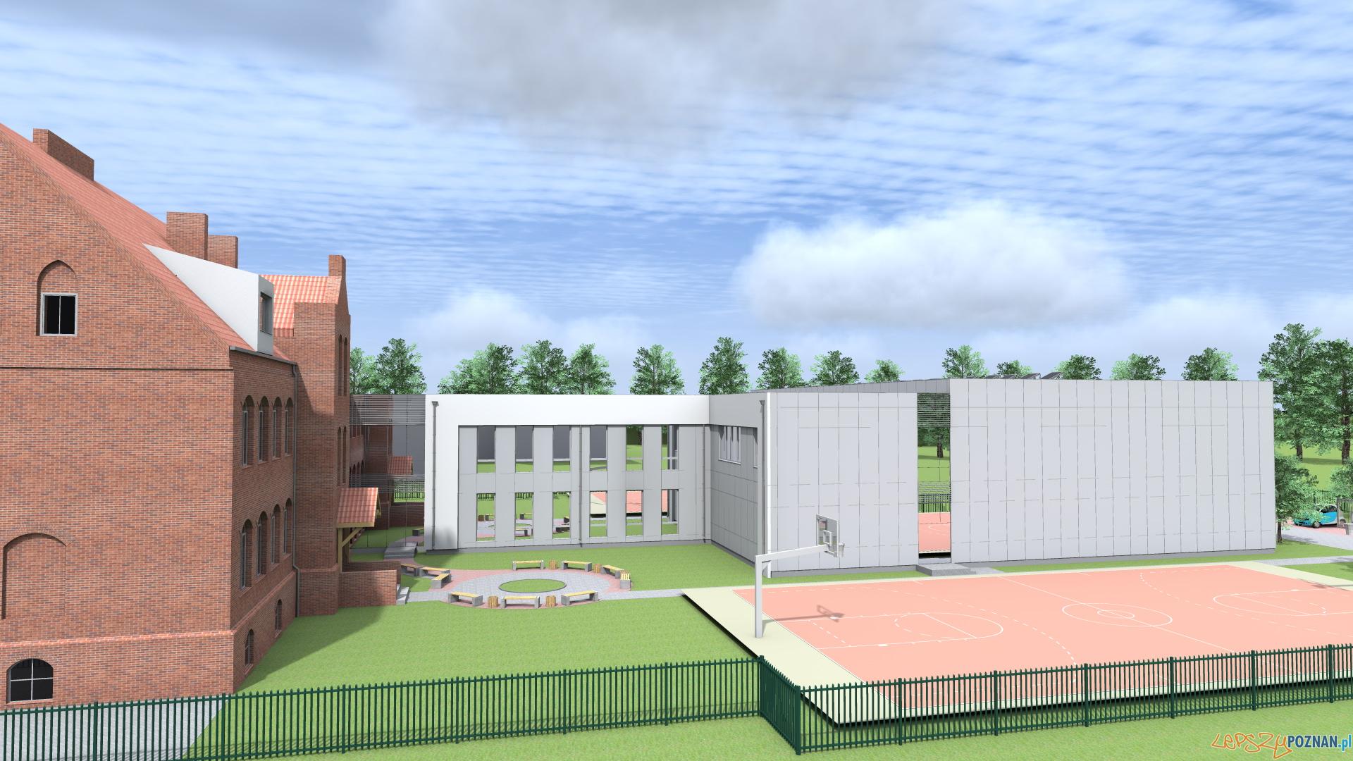 rozbudowa szkoły w Murowanej Goślinie  Foto: